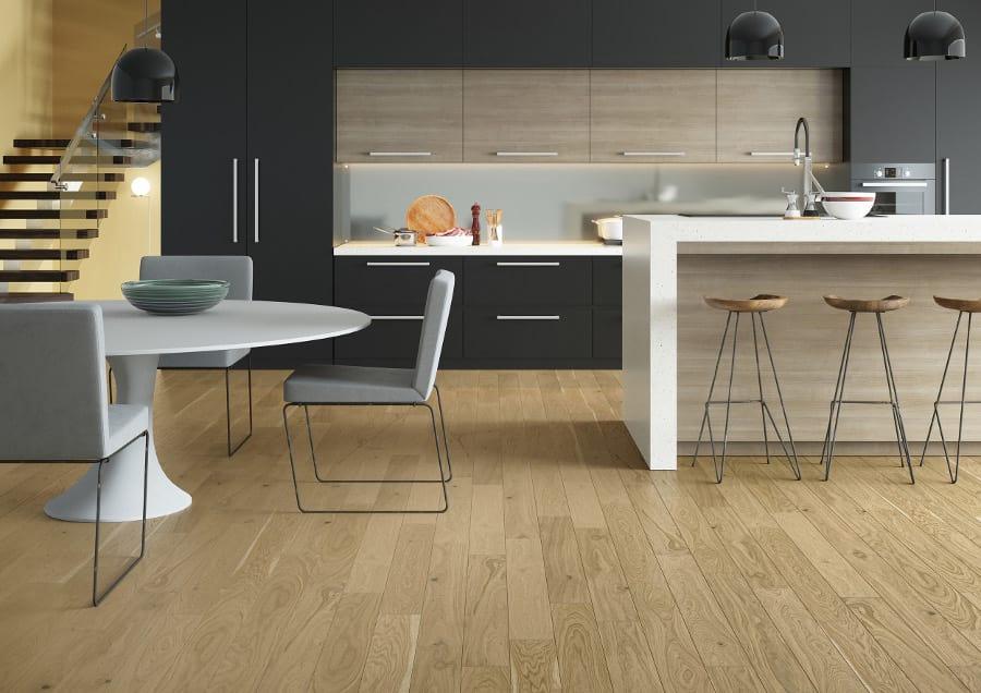 1931b85e Кухня в современном стиле предпочтительно изготавливается из стекла, хрома,  ламинированного дерева. Модернистский дизайн будет строгим, однако  чрезвычайно ...